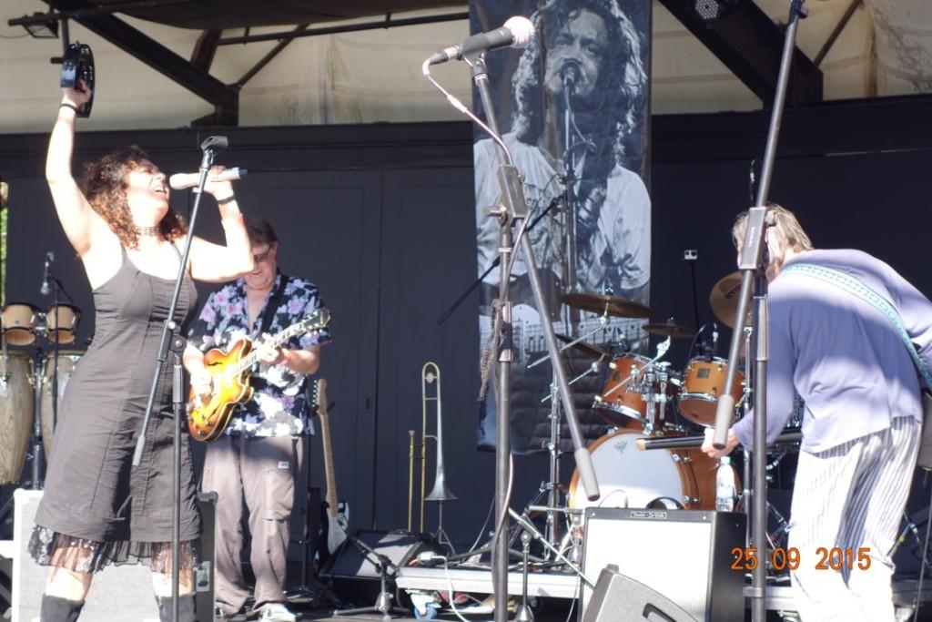 Tonia Selley Gereformeerde Blues Band Gary Herselman Willem Moller Jannie van Tonder