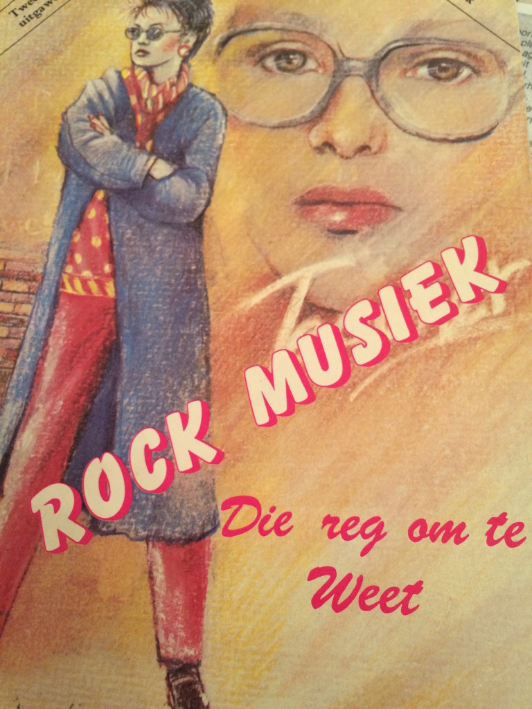 Book cover rock music die reg om the west Rodney Searle