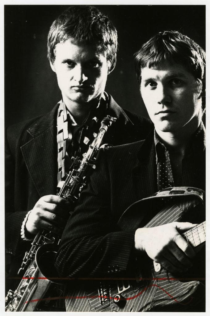 James Phillips and Carl Raubenheimer of Illegal Gathering.