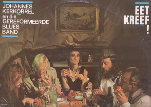 Johannes Kerkorrel Eet Kreef album